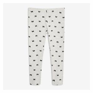 JOE FRESH Girls Leggings Full Gray Size 6